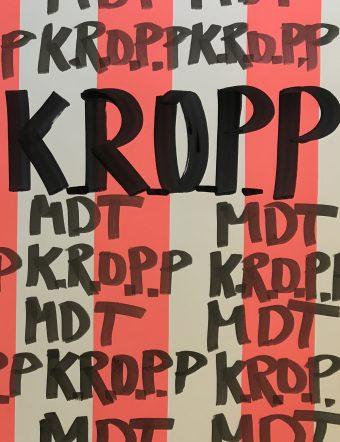 K.R.O.P.P. Tema: MDT, visioner kring danskonst