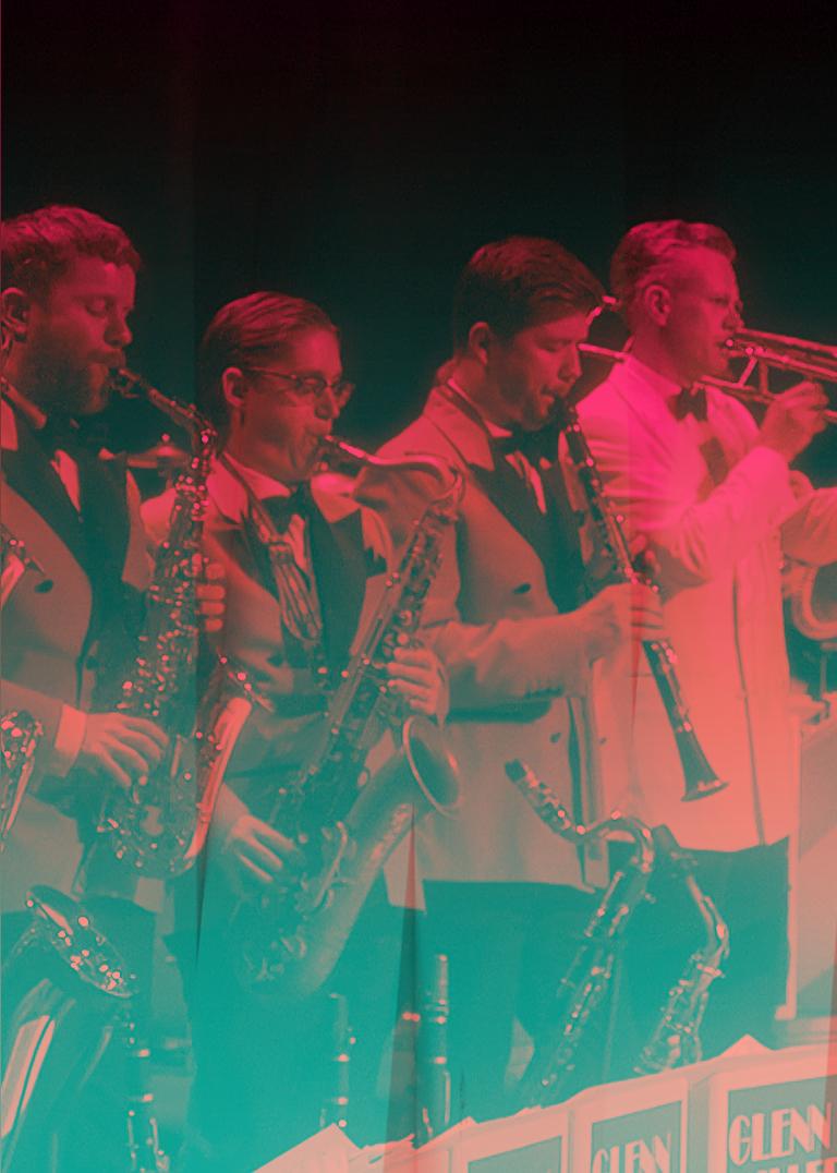 Glenn Miller Orchestra med Jan Slottenäs.